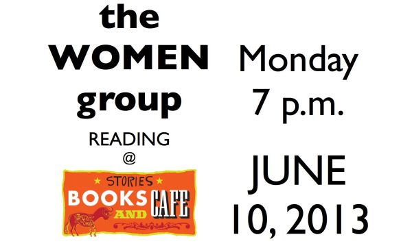 the WOMEN group READING @ stories