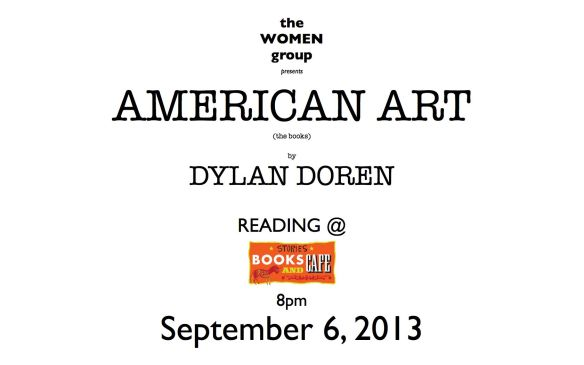 AMERICAN ART (the book) by DYLAN DOREN