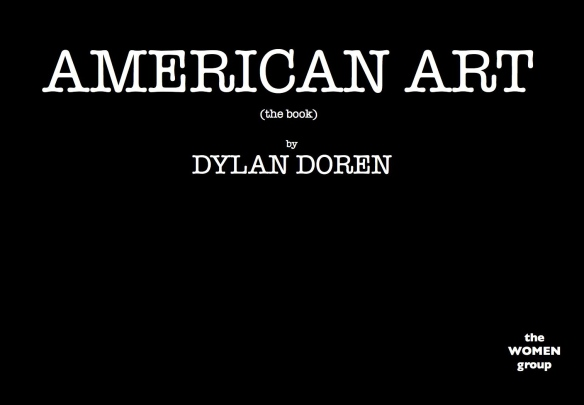 AMERICAN ART (the book)